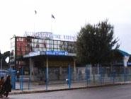 ティブルティーナの長距離バス発着所 切符売り場1
