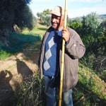 マイアーティカ農園の管理者ドメニコさん