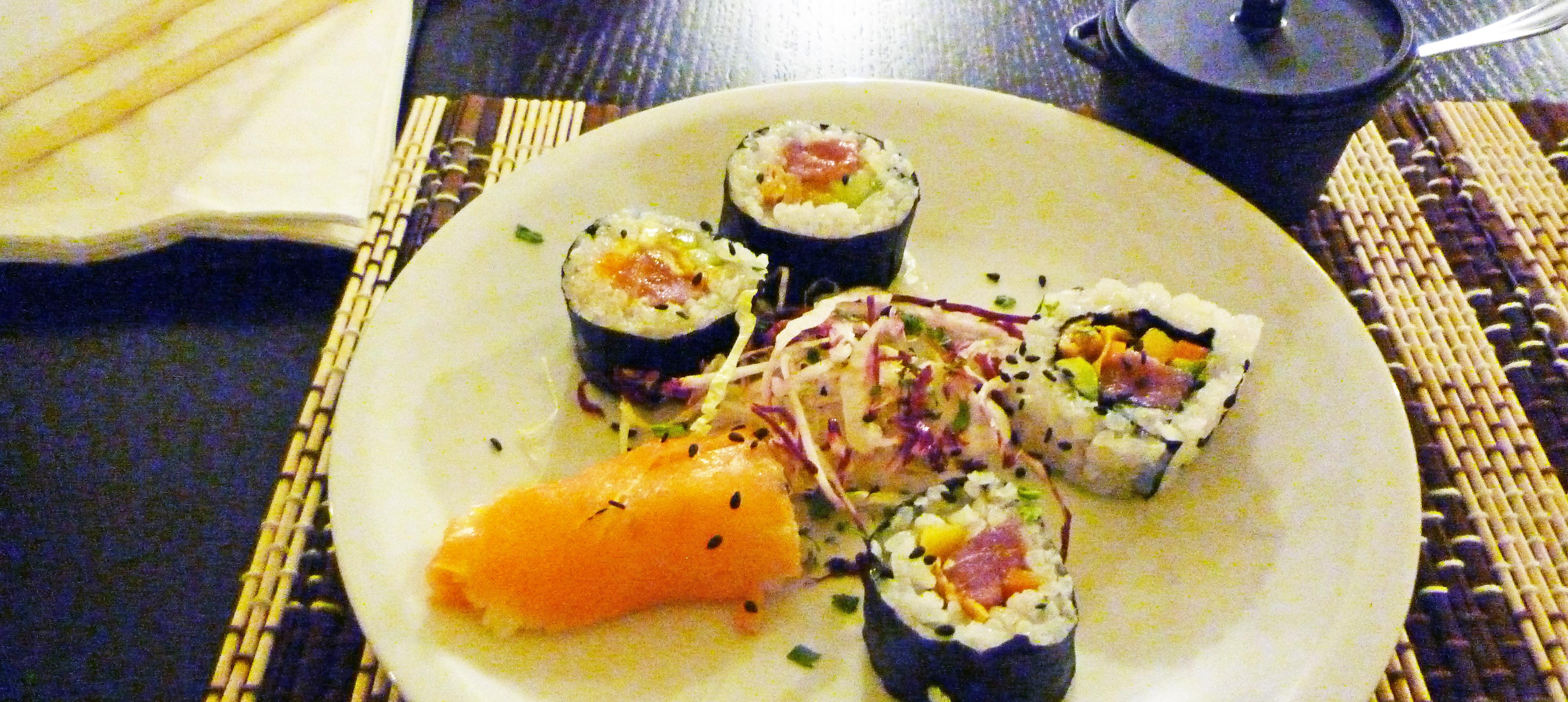マテーラでお寿司
