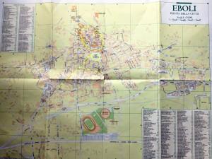 エボリ地図