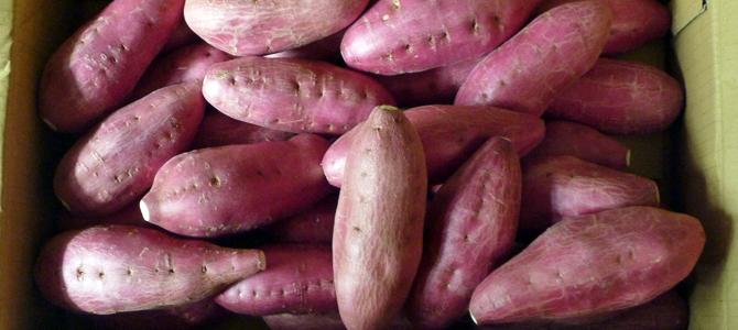 納豆とさつまいもとオリーブオイル