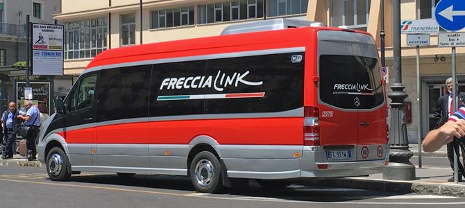 朗報!マテーラが近くなりました^^/ フレッチャリンク-Freccia link ー ナポリからマテーラへの行き方-1
