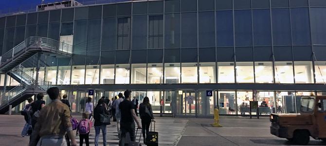 ナポリ空港から市中心部へのバス ー ナポリからマテーラへの行き方-3