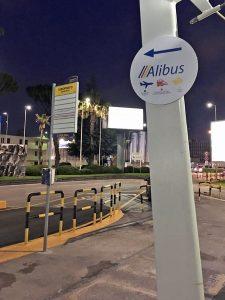 Alibus 停留所