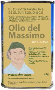 マッシモさんのオリーブオイル