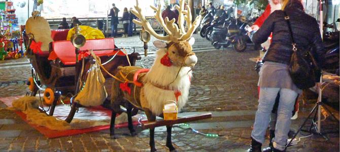 ナポリのクリスマスのお菓子