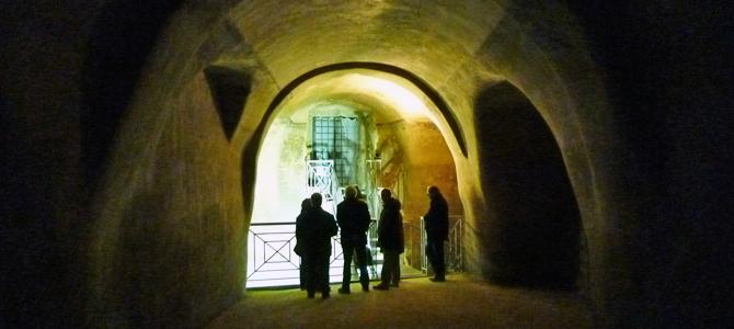 地下のマテーラ(マテーラで一番大きな貯水槽)