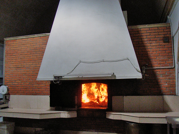 マテーラのパンの薪窯