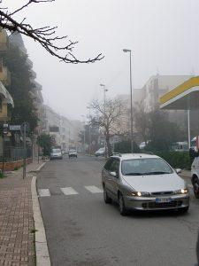 マテーラの靄