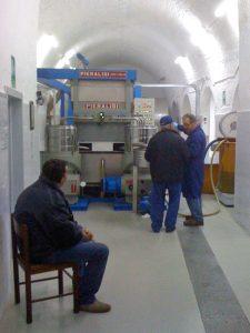ラチェルトーザの搾油所