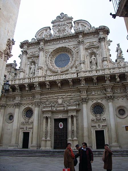 レッチェ サンタクローチェ教会