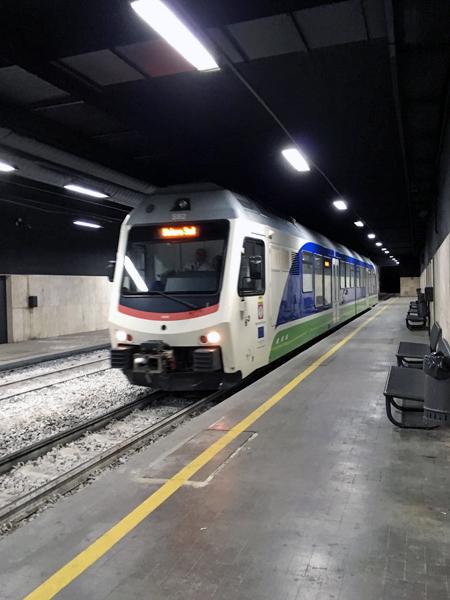 FALのマテーラ中央駅