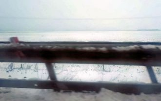 マテーラの季節外れの雪
